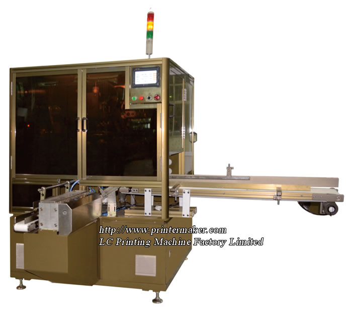 Automatic Screen Printing Machine for Cosmetic Plastic Tube