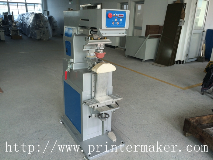 1 Color Close Ink Cup Pad Printing Machine