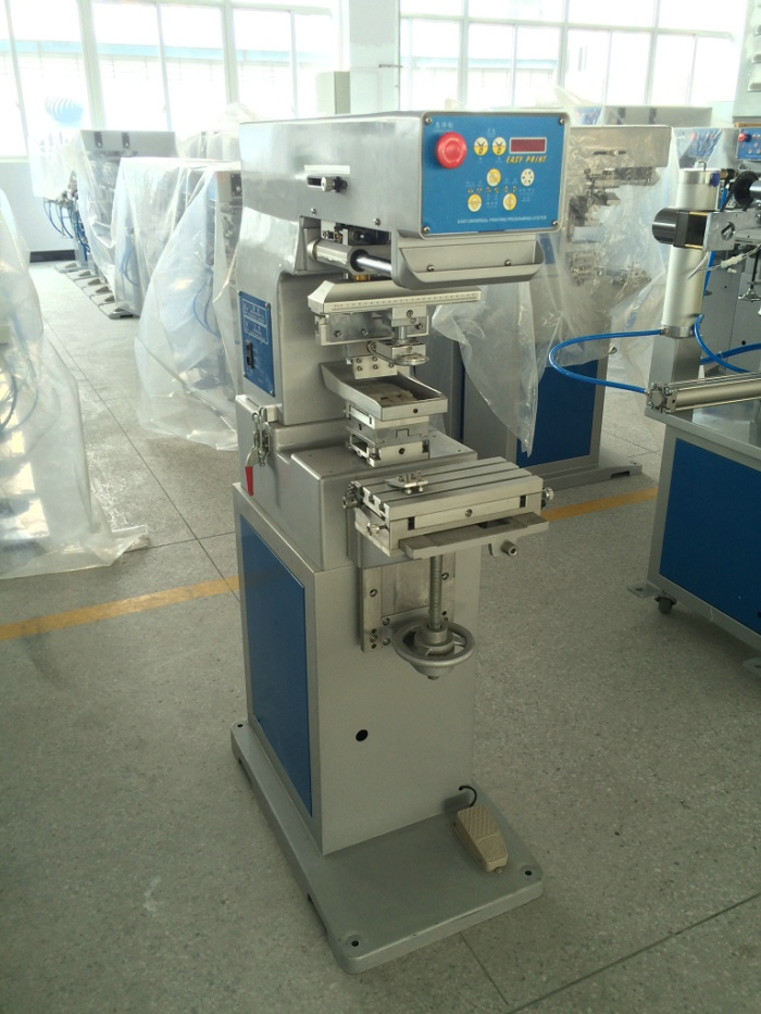1-Color Ink Tray Pad Printing Machine