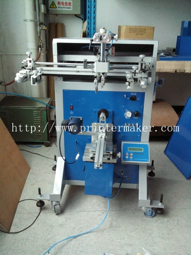 Semi Auto Screen Printer with Motor Registration System