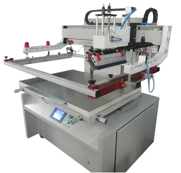 Large Size Fully Electrical Screen Printing Machine(PLC)