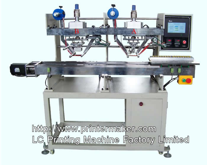 Cable Ties Automatic Hot Stamping Machine with code stamping head