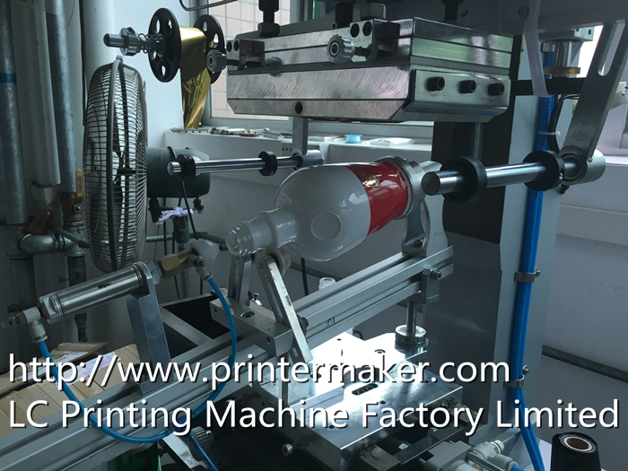Hot Stamping Machine For Glass Bottles