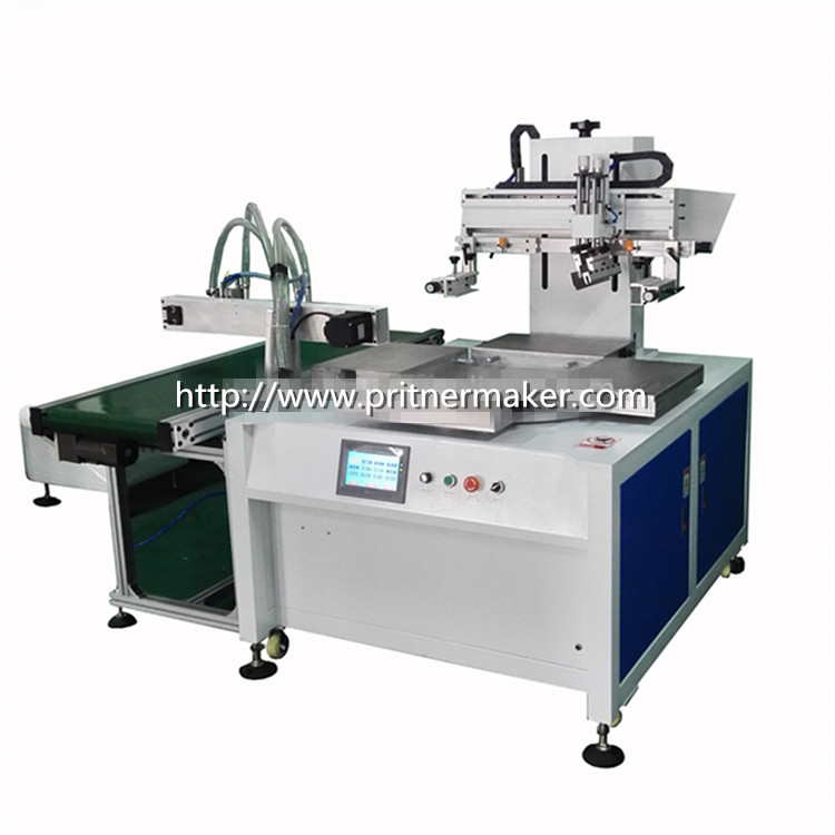 Shoe Upper Automatic Rotary Screen Printing Machine