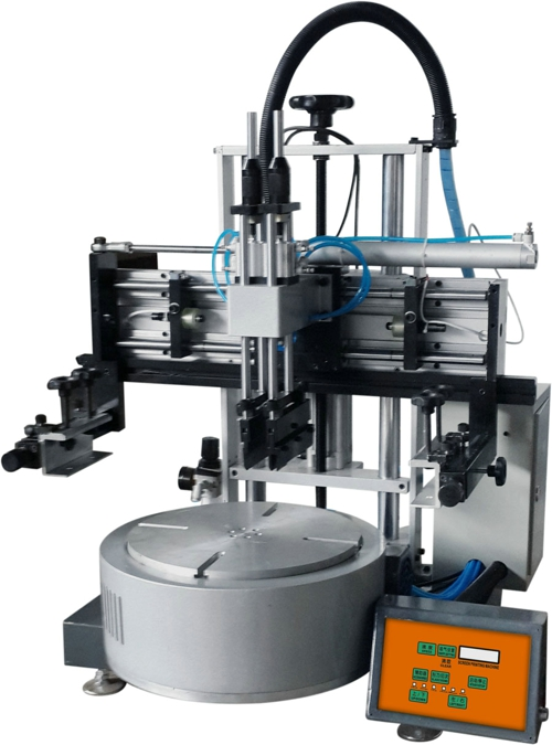 Tabletop Rotary Screen Printing Machine Rodless Cylinder