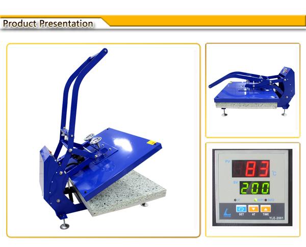 Auto Open Manual Large Format Heat Press Machine