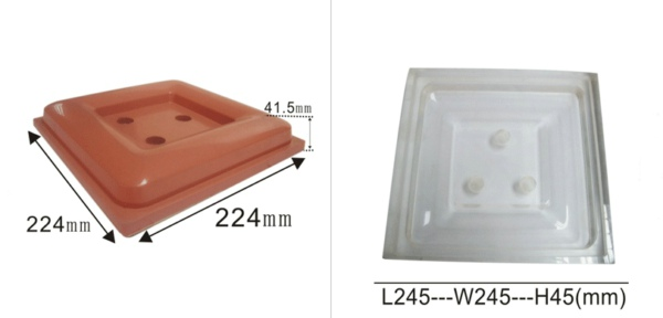 Irregular Rubber Pads and Moulds