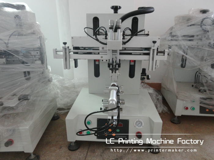 New Desktop Screen Printing Machine for Cylindrical Products
