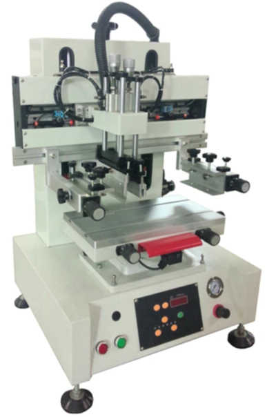 New Mini Flat Screen Printing Machine with T Solt Worktable