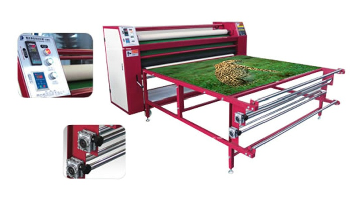 Non woven fabric Roll to Roll Sublimation Heat Transfer Machine