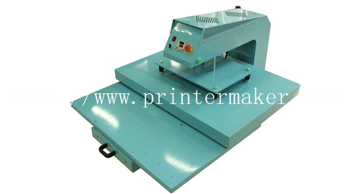 Pneumatic Heat Press Machine with Moving Workingtable