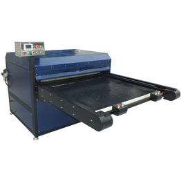 Single Side Two Station Large Format Automatic Heat Press Machine