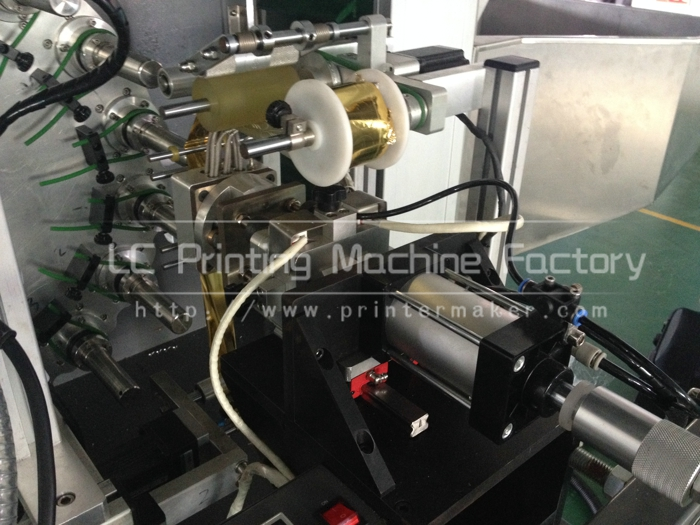 Automatic Hot Stamping Machine for Cap Top and Sidewall