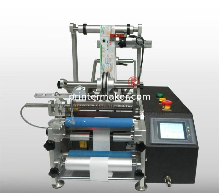 Glass Wine Bottles Labeling Machine