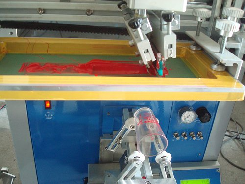 Cylindrical Screen Printer