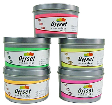 Chemical Discoloration Printing Ink