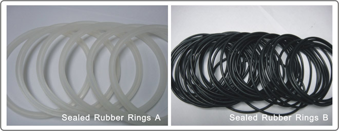 Sealed Rubber Rings For Ink Cup