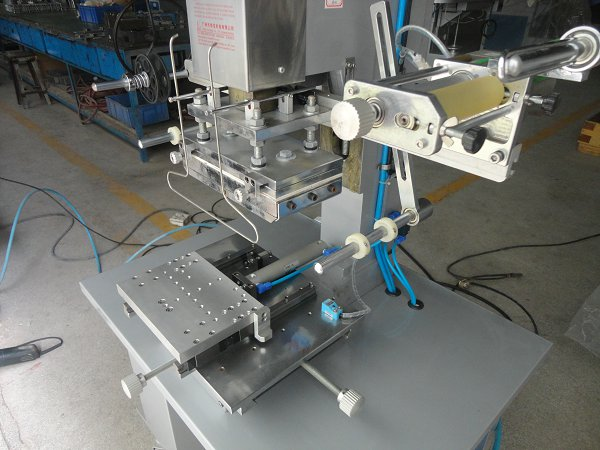 Flat Hot Stamping Machine with Shuttle