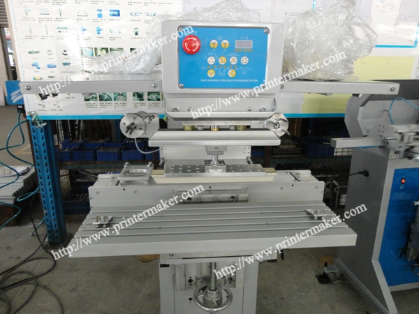 Side Way Ink Cup Pad Printing Machine