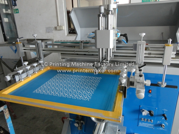 Large Size Curved Screen Printer