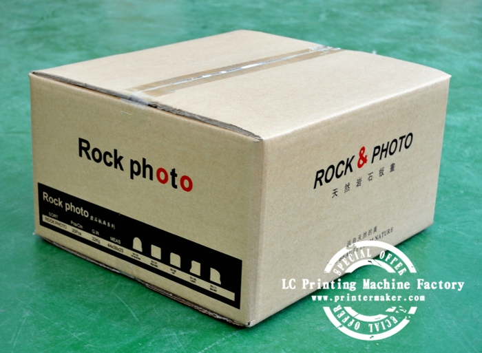 Sublimation Rock Photos Packing