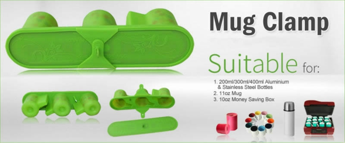 Silicone Clamp For 3d Sublimation Sports Bottle