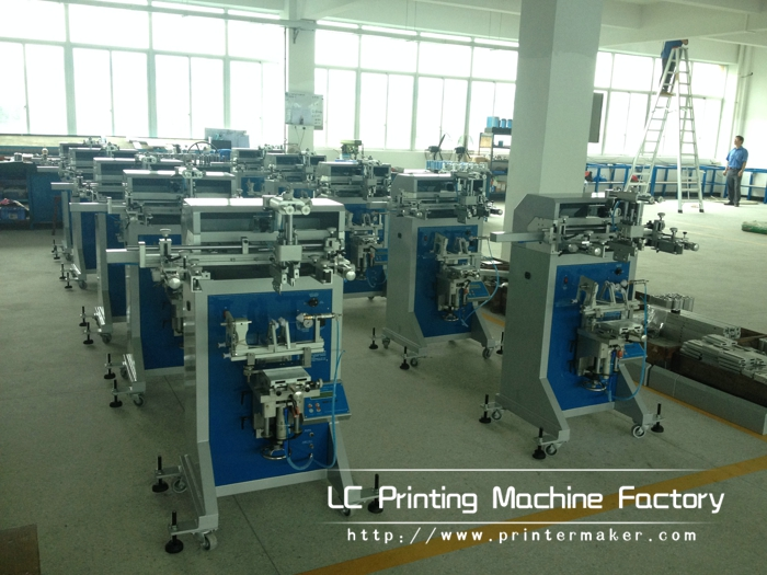 Screen Printing Machine Working Room