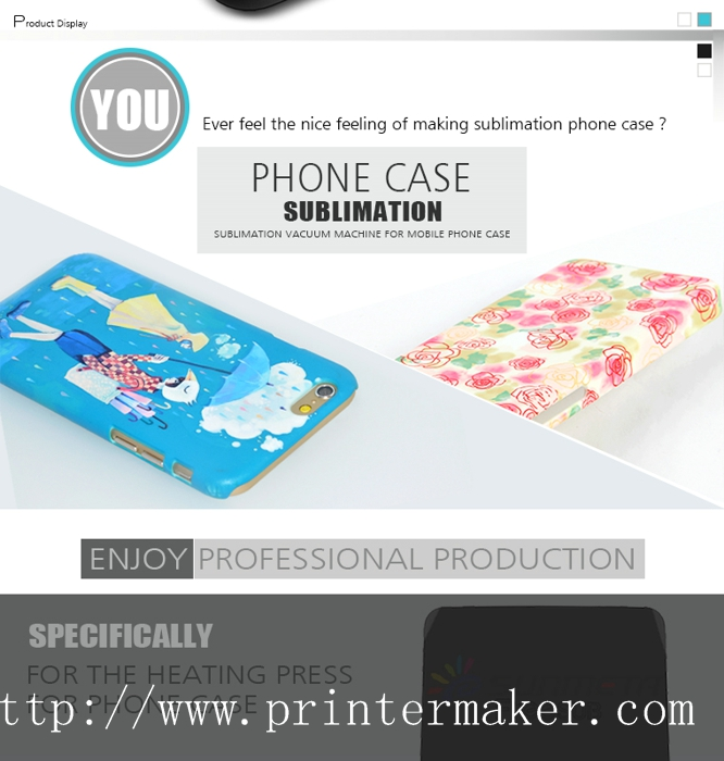 ST-2030 New 3D Sublimation Machine For Phone Case Printing