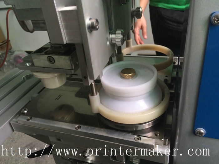 Easy Brand Pad Printing Machine Ink Cup System