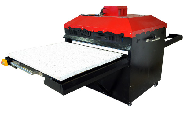 Automatic Sublimation Large Format Heat Transfer Machine with single station