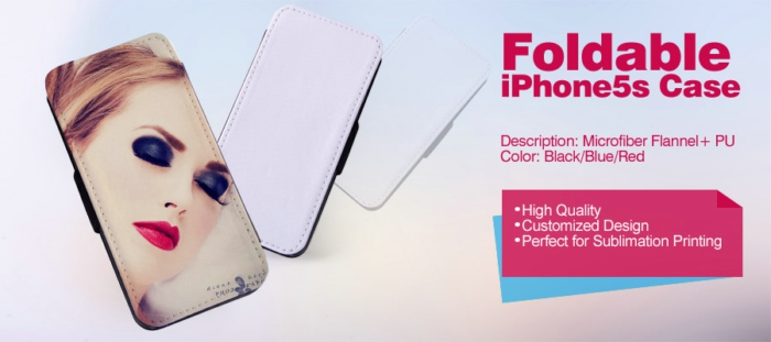 Leather Sublimation Cover for iPhone 5S