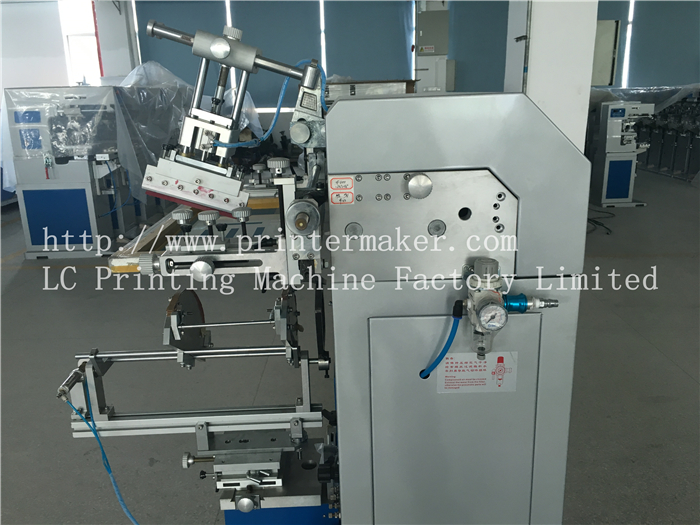 Cylindrical Screen Printing Machine for 5 Gallon Water Buckets