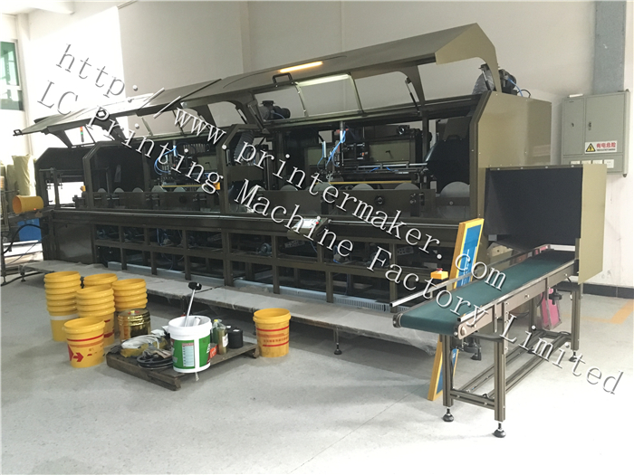 Automatic Silk Screen Printing Machine For Bucket