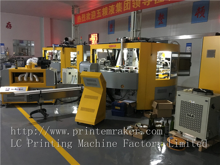 Glass Bottles automatic screen printing machine