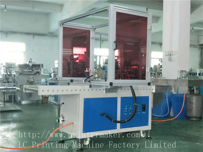Flame Treatment Machine for Dust Bin & Beverage Crate